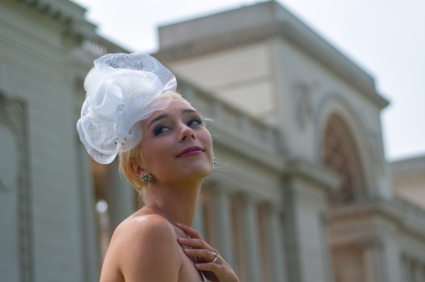 Aria Fascinator by MikoFabulous Bridal on Etsy.com/shop/MikoFabulous